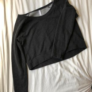 Gap fit crop sweatshirt